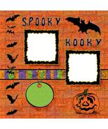 Halloween 3 ~ Digital Scrapbooking Quick Page L... - $3.00