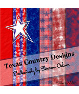 Red, White, and Blue ~ Digital Scrapbooking Paper Pak - $3.50