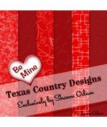 Digital Scrapbooking Paper ~ Be My Valentine - $3.50