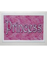Princess Sign - Framed Wall Decor - $12.00