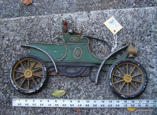 antique rare ex-extra large saxton wall cars