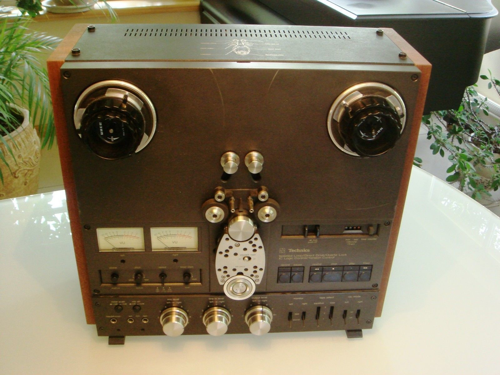 NEW CUSTOM Veneer Wood Side Panels Reel Recorder Studer Technics Otari