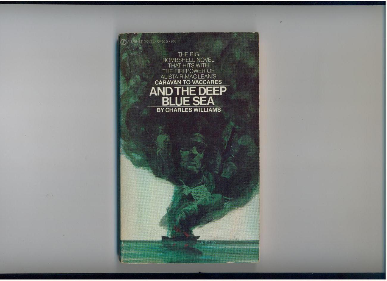 Charles Williams - AND THE DEEP BLUE SEA - 1971 - 1st ed.