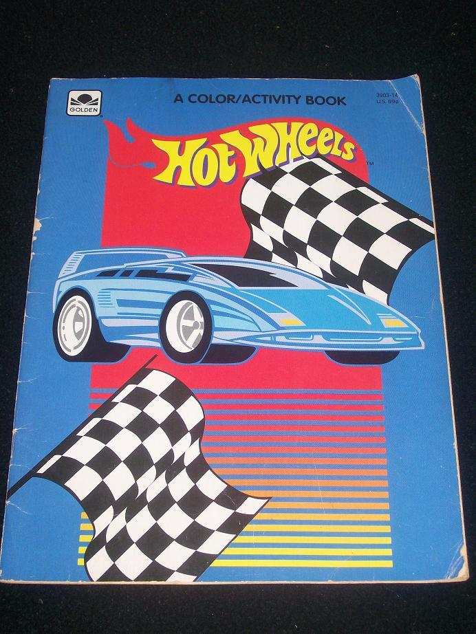 Hot Wheels Big Color and Activity Book [Paperback]