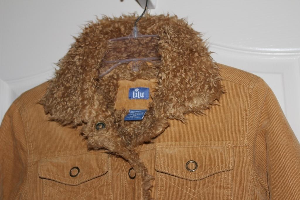 Lilu Ladies/ Jr Jacket Coat Size X Small