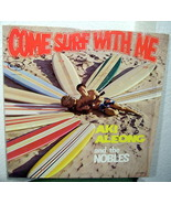 Aki Aleong and the Nobles Come Surf With Me LP - $36.99