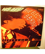 B.B. King His Best Japanese Release LP Vinyl  - $47.99