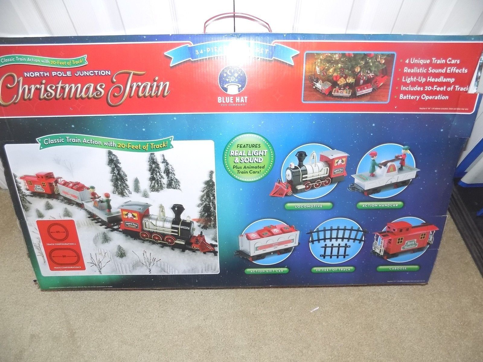 North Pole Junction Christmas Train 34 Piece - Best Train 2018