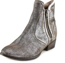 Seychelles  Gold/Black Ankle Boots Womens Boots Size 7 chrome #12 Stripe... - $55.88