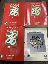 2000 Chevrolet Chevy Corvette Service Shop Repair Workshop Manual Set W ... - $197.95