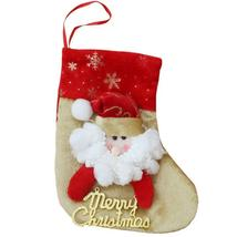 (01)Snoman Santa Claus Christmas Stocking Christmas Tree Ornaments New Y... - $14.00