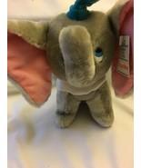 "Dumbo Plush Vintage Walt Disney Productions Blue Hat 7"" Plush - $14.99"