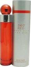 Perry Ellis 360 Red By Perry Ellis For Men. Eau De Toilette Spray 1.7 Ou... - $31.40