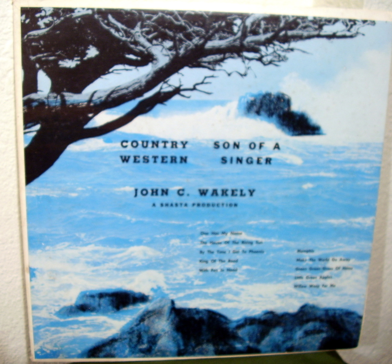 John C. Wakely Country Son of A Western Singer LP