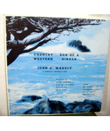 John C. Wakely Country Son of A Western Singer LP - $75.99