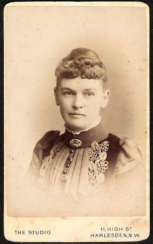 ANTIQUE VICTORIAN  CARD DE VISITE BEAUTIFUL FASHIONABLE LADY W/ BROOCH