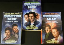 Quantum Leap 3 novels by Ashley McConnell 1992 TV Series - $6.50