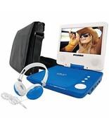 Sylvania SDVD7060-Combo-Blue 7-Inch Portable DVD Player Bundle with Matc... - $93.99