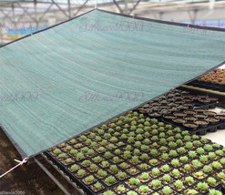 Blackish Green Shade Cloth Taped Edge with Grommets Quick Assembly Const... - $16.59+