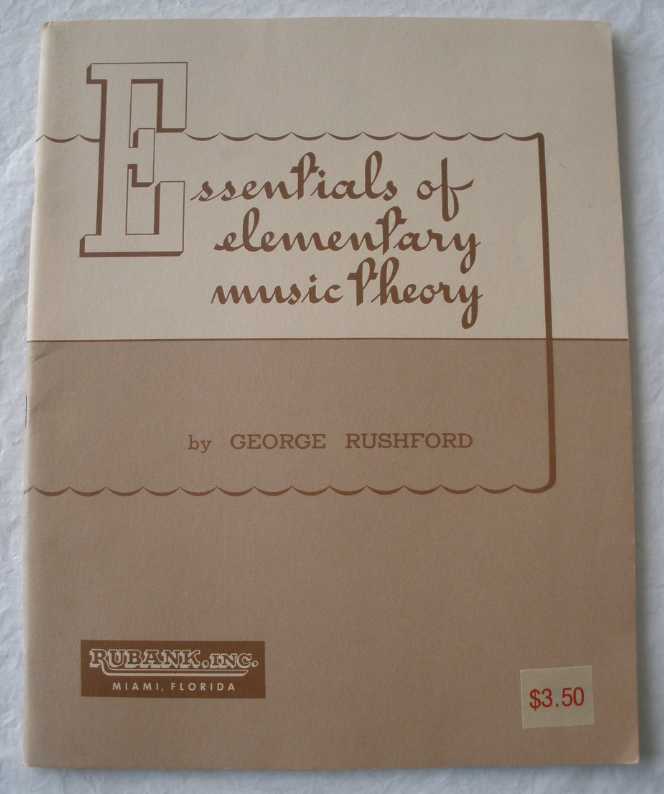 Essentials of Elementary Music Theory - Rushford