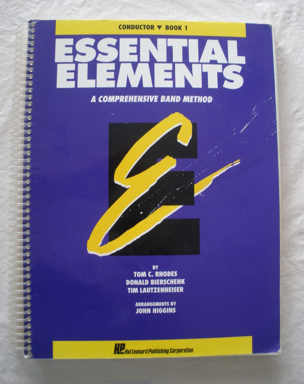 Essential elements bk 1 cond
