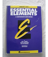 Essential Elements - conductor - Book 1 - Rhodes - $13.00