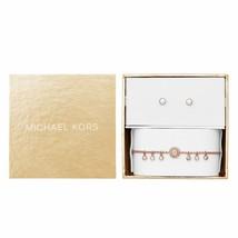 Michael Kors Bracelet Femmes et Boucles D'Oreilles Giftset MKJ6897791 - $108.05
