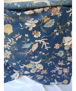 Designer Fabric Shower Curtain cotton chintz S. Harris - $24.99