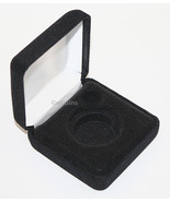 Lot of 6 Black Felt COIN DISPLAY GIFT METAL BOX for 1-Quarter or Preside... - $24.70