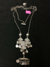 "BAJALIA "" Rashi "" Coin-Design Drop Necklace  - $98.99"