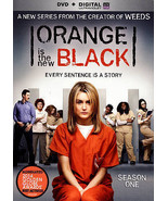 Orange Is the New Black: Season One (DVD, 2014, 4-Disc Set) Like New - $9.49