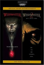 Wishmaster / Wishmaster 2: Evil Never Dies Double Feature DVD (1999)