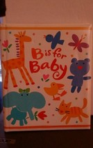 CR Gibson Giraffe Animals Colorful B is for Baby Memory Book Unused  - $11.30
