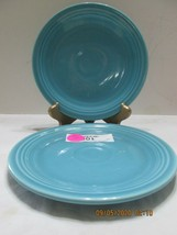 "2 Fiestaware 7"" Bread & Butter Salad Plate  BLUE Marked (2) - $11.88"