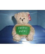 School Rocks TY Beanie Baby MWMT 2006 - $4.99