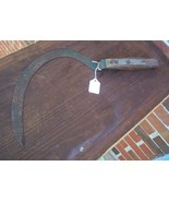ANTIQUE SICKLE SYTHE - $45.00