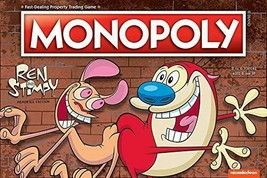 USAOPOLY Monopoly Ren & Stimpy Board Game | Based on The Nickelodeon Series Ren - $33.85