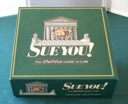 Sue You! Explosive Game Of Law Complete VGC - $12.50
