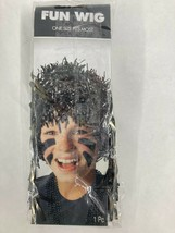 Adult Shiny Foil Streamers Fun Wig Halloween Costume Accessory - $12.86