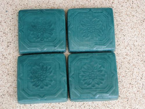 "Victorian 5""x5"" Tile Molds (12) Make Hundreds of Cement Plaster Floor Wall Tiles"