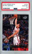 Blake Griffin RC 2007 Topps McDonald's All-American RC GEM BGS 9.5-Cippers F RC image 3