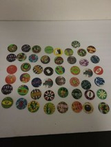 Vintage 90's Lot of 49 Pogs Lots of Rares Excellent Condition See Pics EUC - $11.25