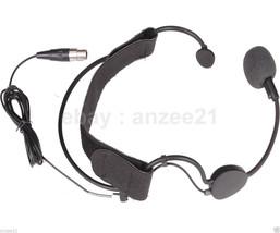 Condenser Head headworn Microphone For AKG body-pack transmitter XLR min... - $28.21