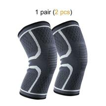 Ship from USA 1 Pair Knee Brace Knee Compression Sleeve Support for Men Women Ru image 5
