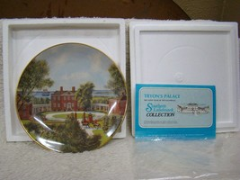 "Gorham Southern Landmark Series China Collector Plate ""Governor Tryon's Palace"" - $13.81"