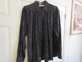 Tommy Bahama , Size XL ,Men's Long Sleeve Shirt ,53%Tencel ,24%Cotton ,2... - $39.55