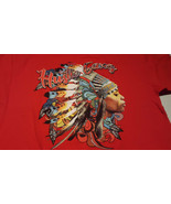 Hustle Gang Racing Red XL Mens SHORT Sleeve T Shirt With Graphics - $23.20