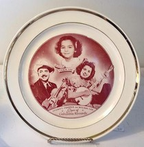Stoney Cooper Wilma Lee Daughter Columbia Records Smith Taylor Smith Plate