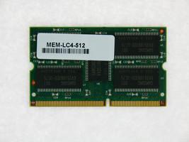 MEM-LC4-512 512MB Approved memory for Cisco 12000 Line Card 4