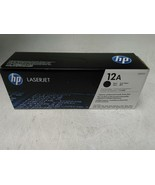 NEW HP Q2612A Black Toner Cartridge - $32.67